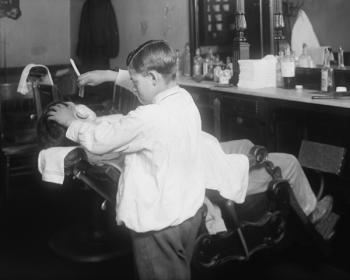 boy barber